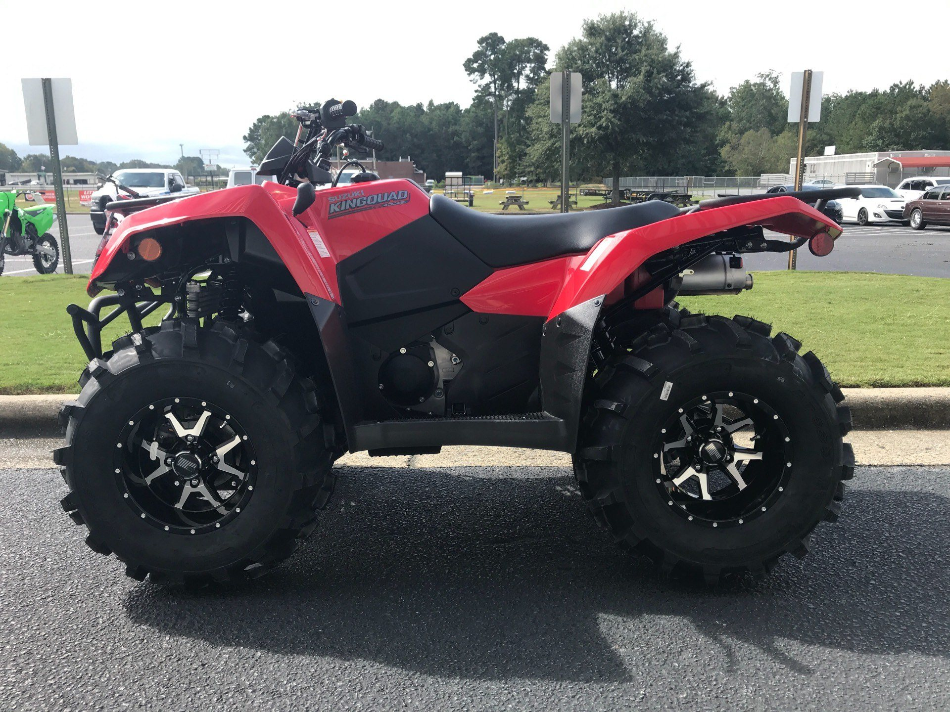 2021 Suzuki KingQuad 400ASi in Greenville, North Carolina - Photo 5