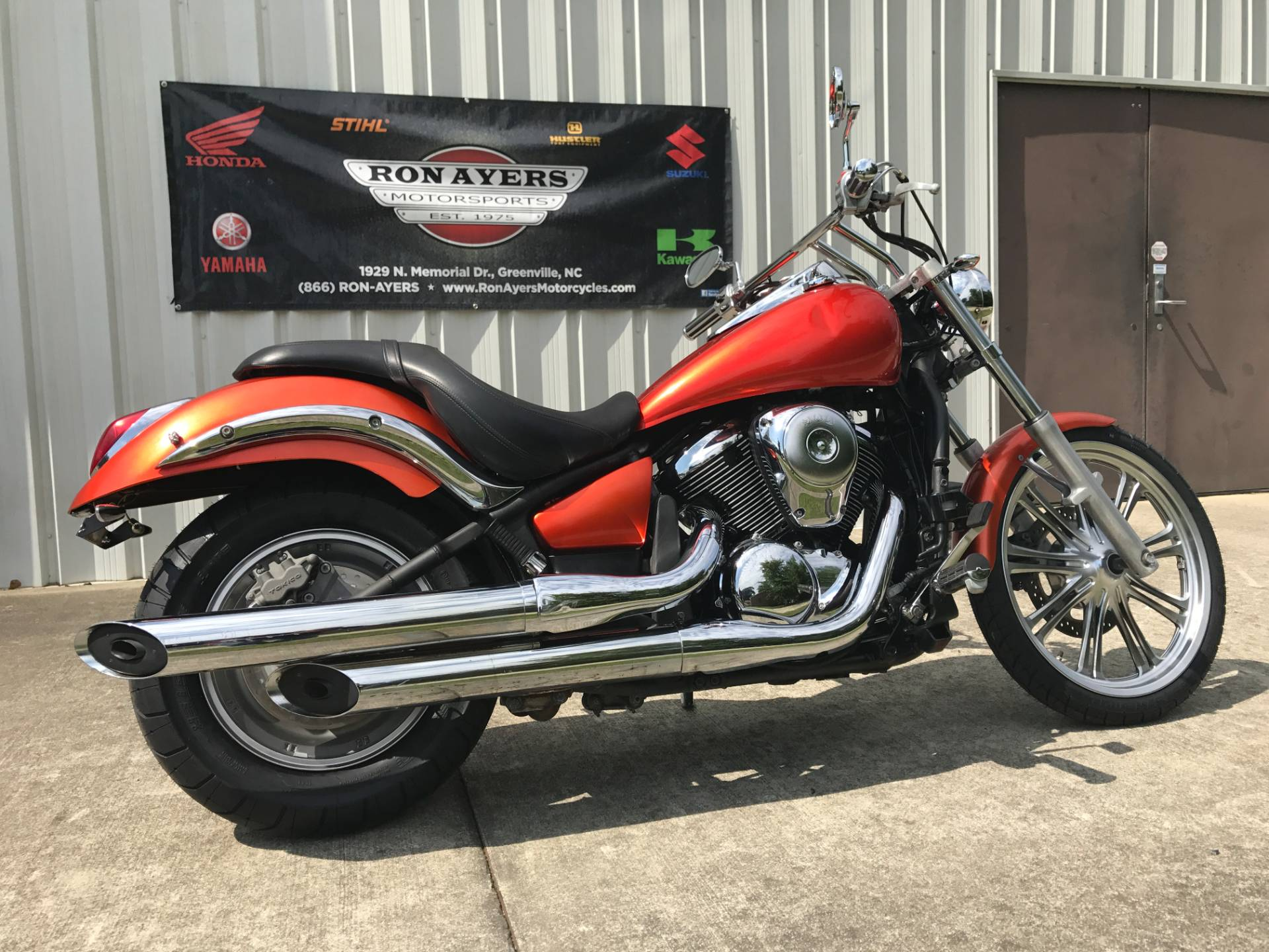 2009 Kawasaki Vulcan® 900 Custom in Greenville, North Carolina