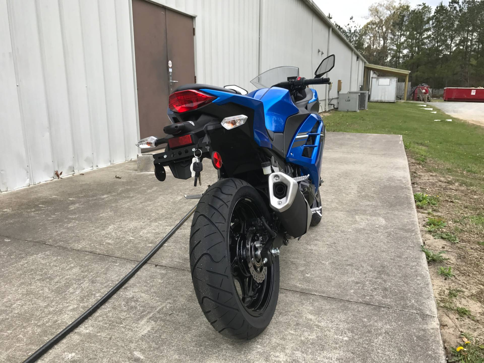 2017 Kawasaki Ninja 300 ABS in Greenville, North Carolina