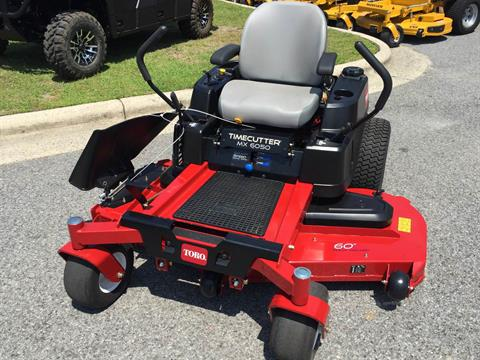 2017 Toro 60 in. (152 cm) TimeCutter MX6050 (74777) in Greenville, North Carolina