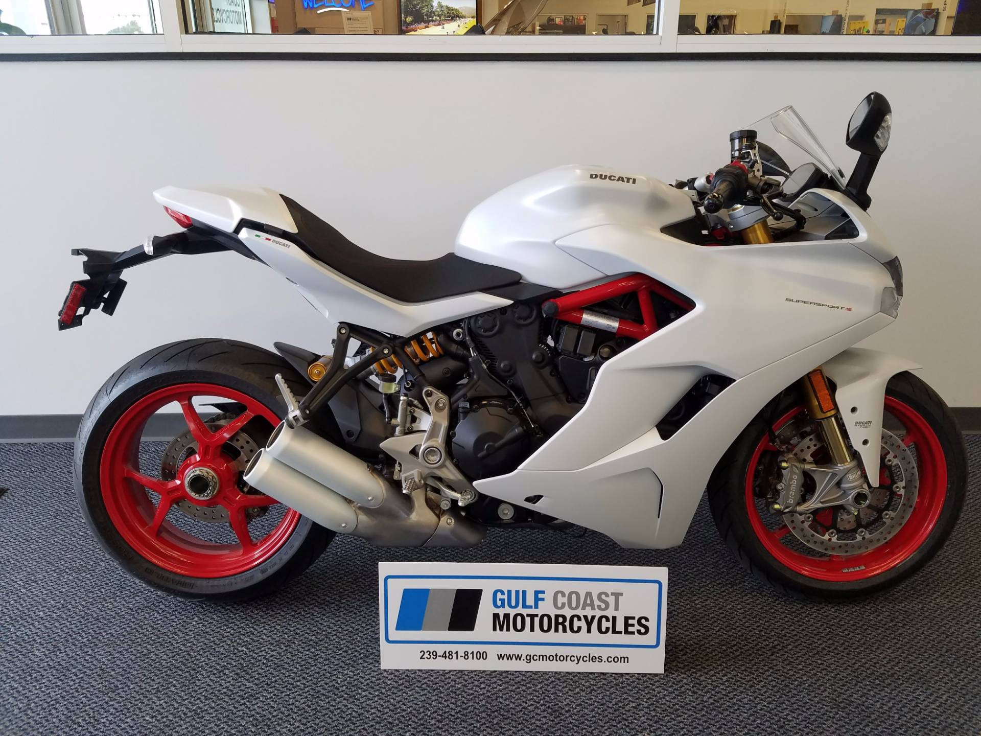 2017 Ducati SuperSport S in Fort Myers, Florida
