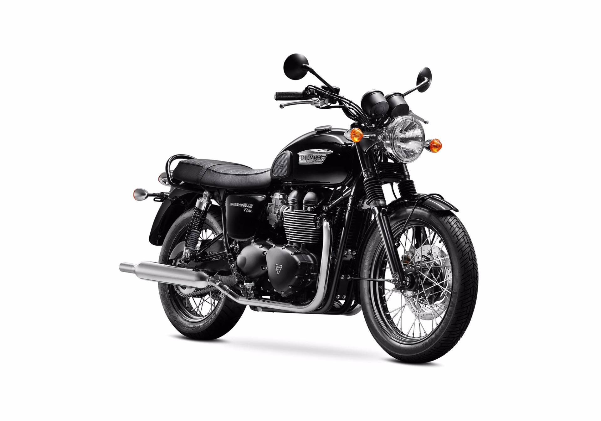 2016 Triumph Bonneville T100 Black in New Haven, Connecticut
