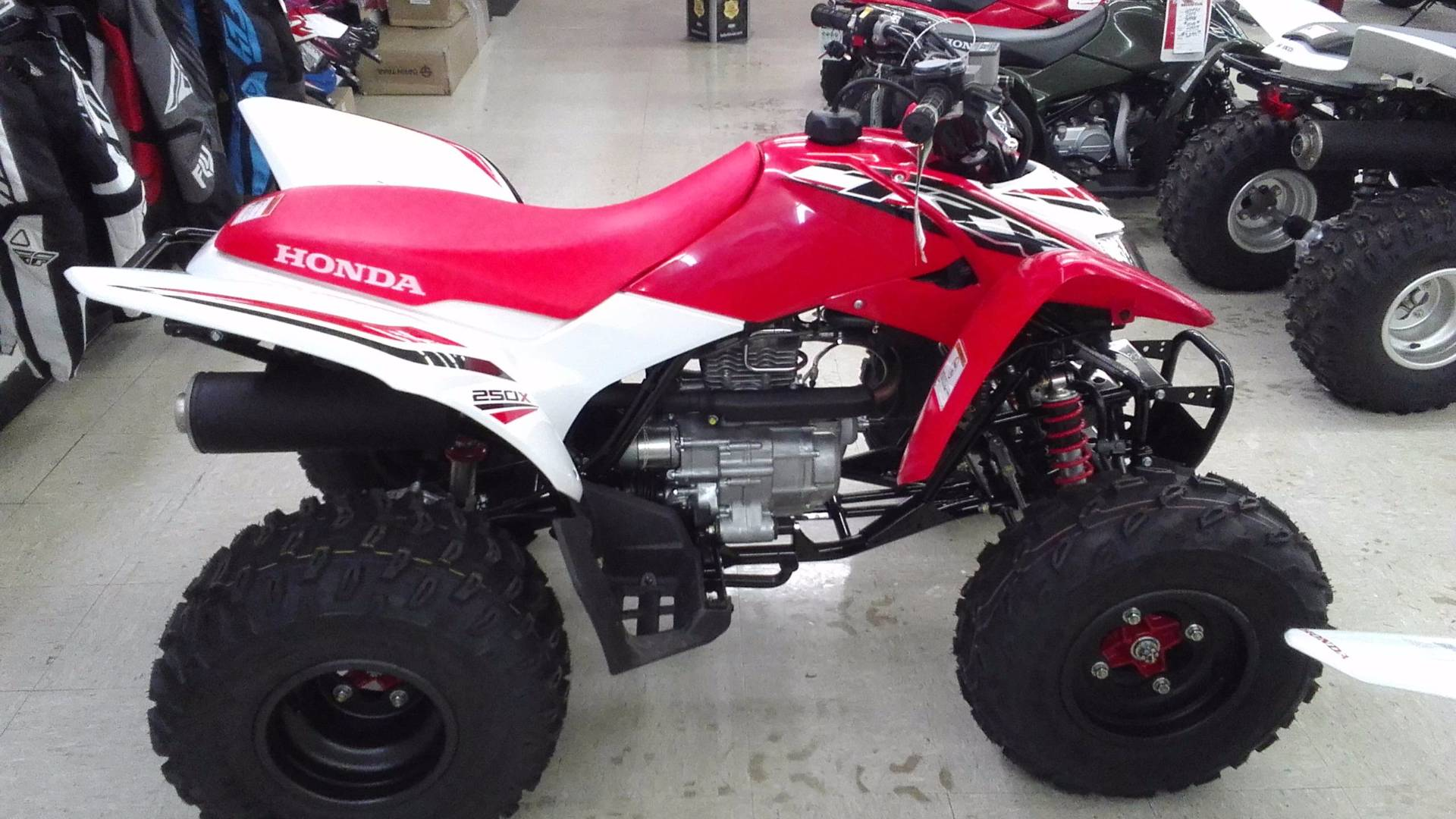 2017 Honda TRX250X Special Edition in Greeneville, Tennessee