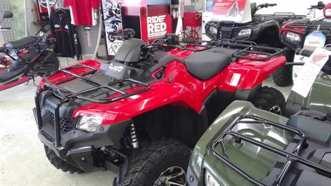 2017 Honda FourTrax Rancher 4x4 ES in Greeneville, Tennessee