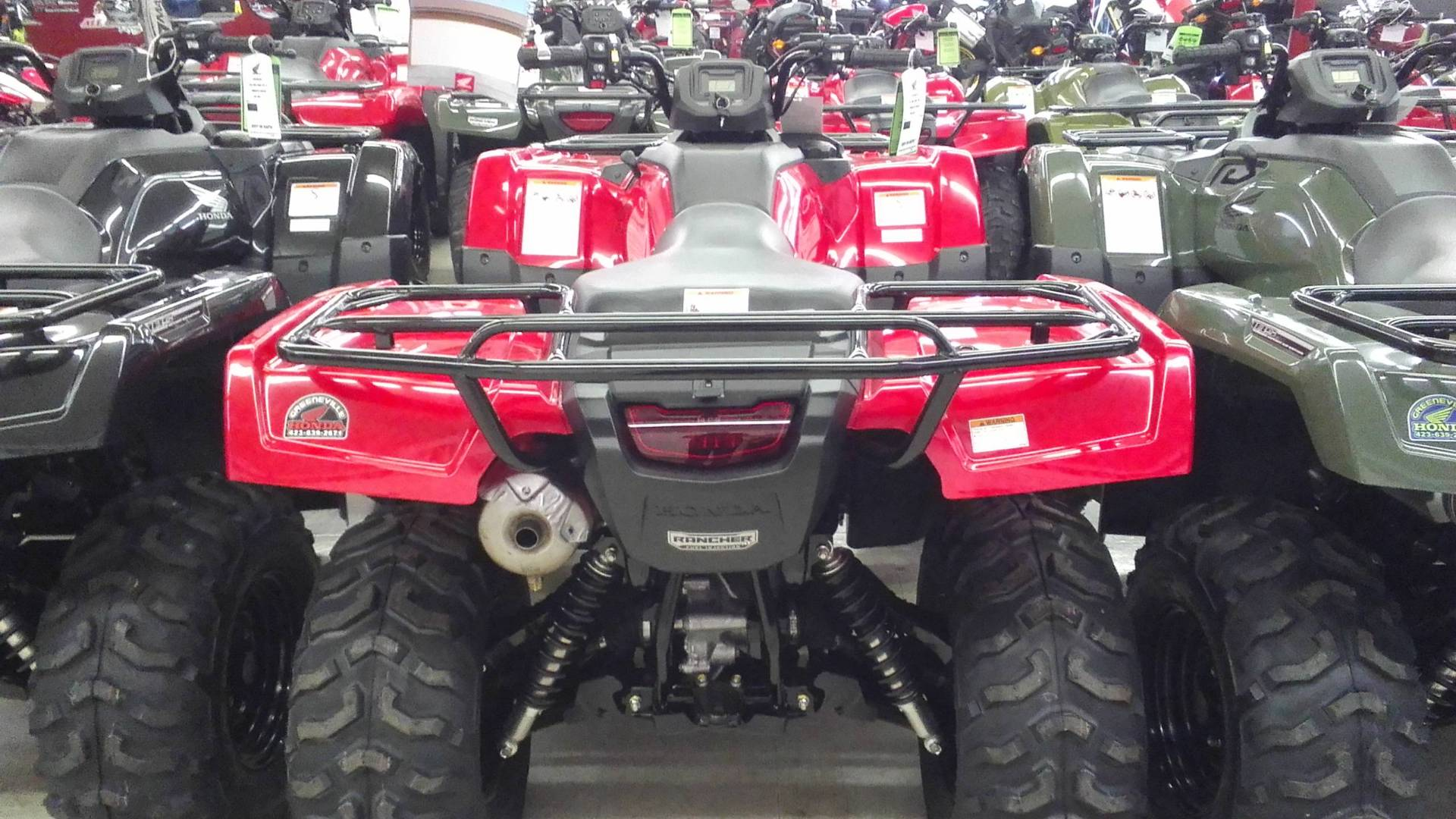 2017 Honda FourTrax Rancher 4x4 DCT IRS in Greeneville, Tennessee