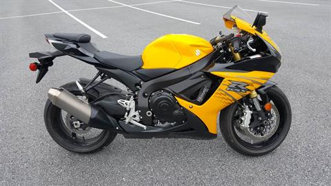 2012 Suzuki GSX-R750™ in Jonestown, Pennsylvania
