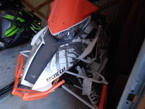 2017 Arctic Cat ZR 6000 129 LTD ES EB ORN in Hillsborough, New Hampshire