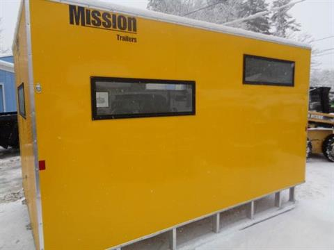 2017 Alcom Trailer ICE SHACK in Hillsborough, New Hampshire