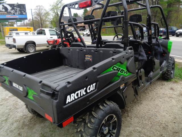 2017 Arctic Cat HDX 700 Crew XT in Hillsborough, New Hampshire