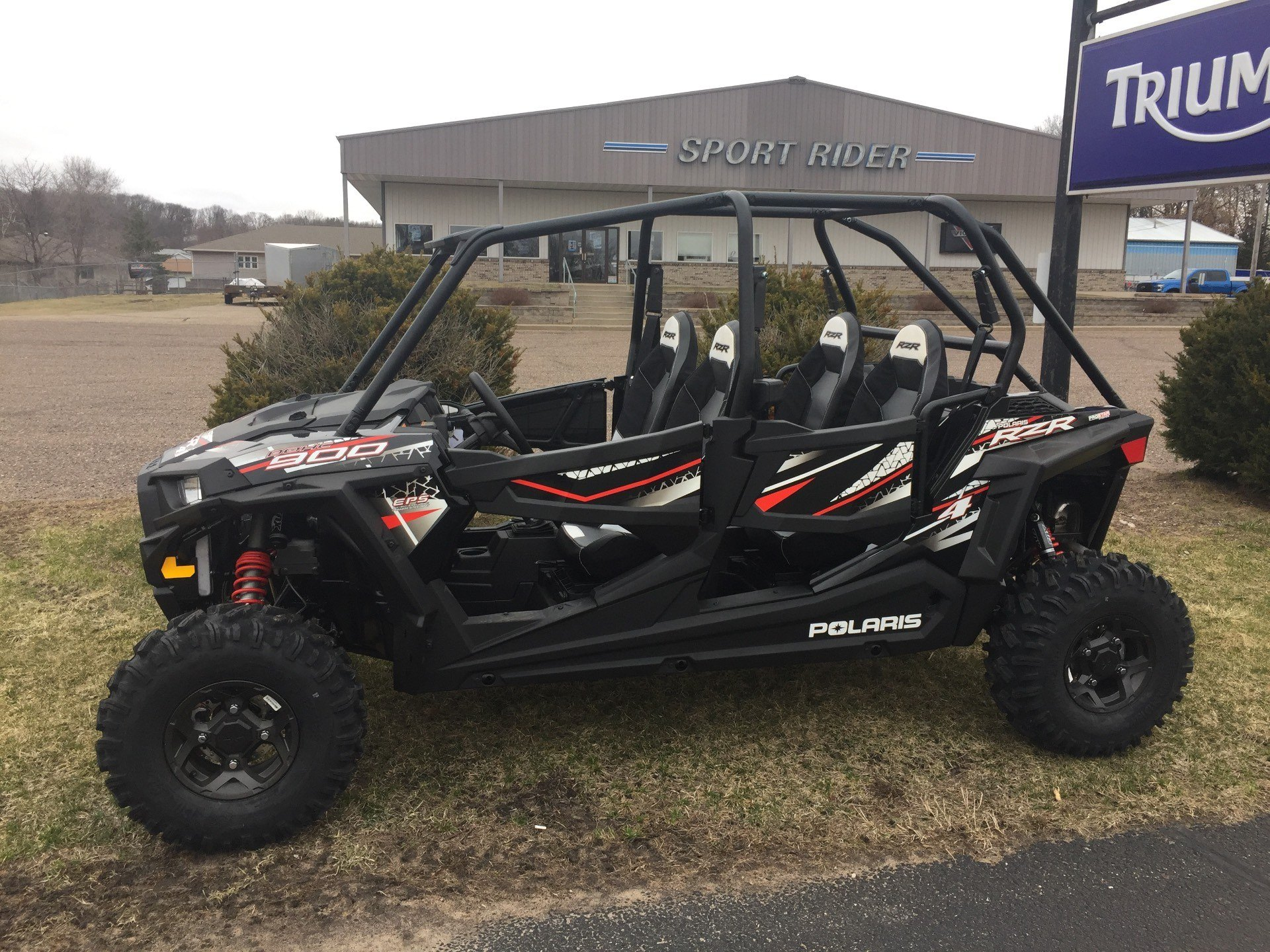 2017 Polaris RZR 4 900 EPS in Altoona, Wisconsin