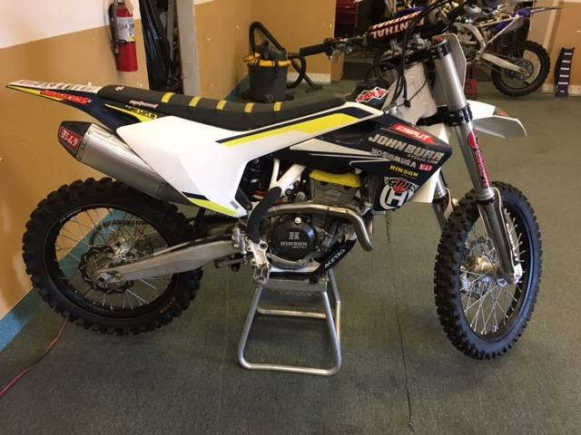 2016 Husqvarna FC 350 in Fontana, California