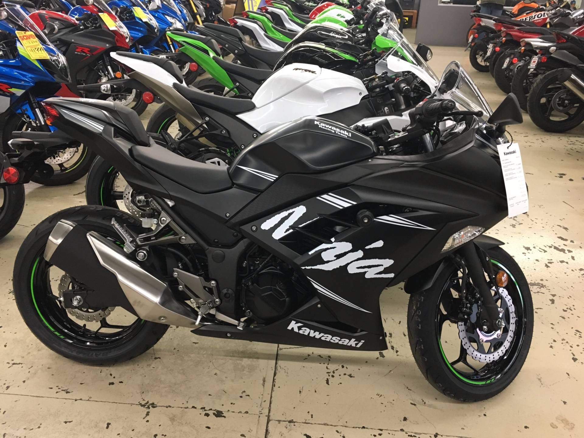 2017 Kawasaki NINJA 300 ABS KRT EDITION in Corona, California