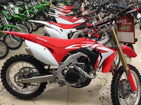 2017 Honda CRF450R in Corona, California