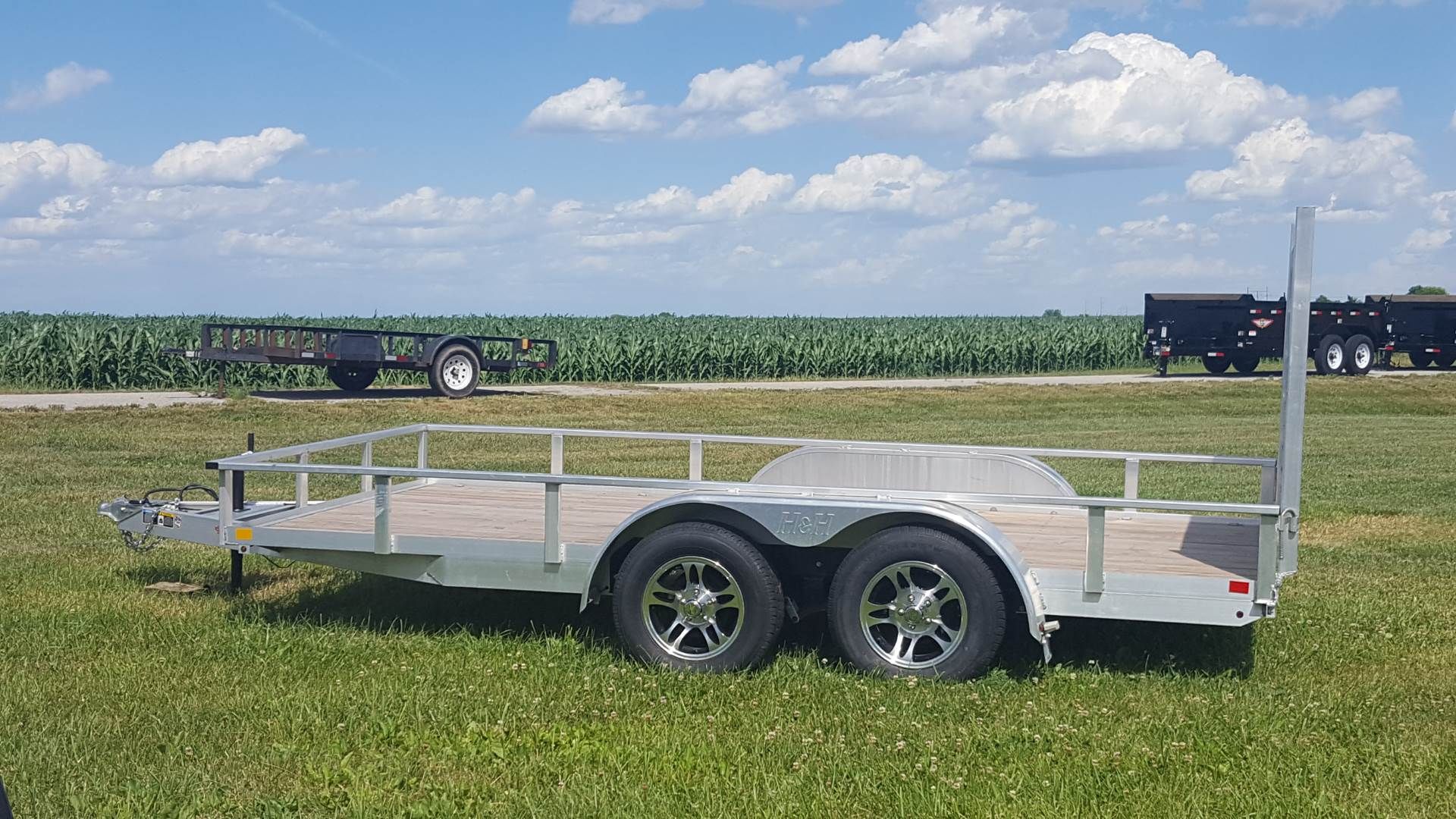 2016 H&H 8.5 X 14 RS TANDEM in Ottumwa, Iowa