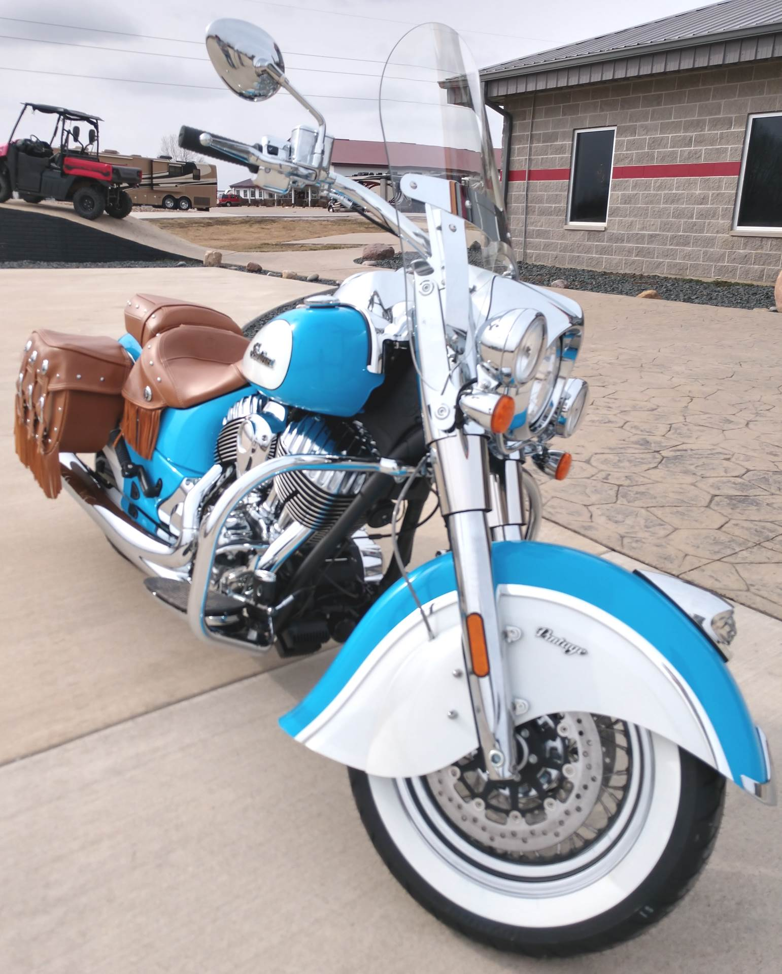 2018 Indian Chief® Vintage ABS in Ottumwa, Iowa