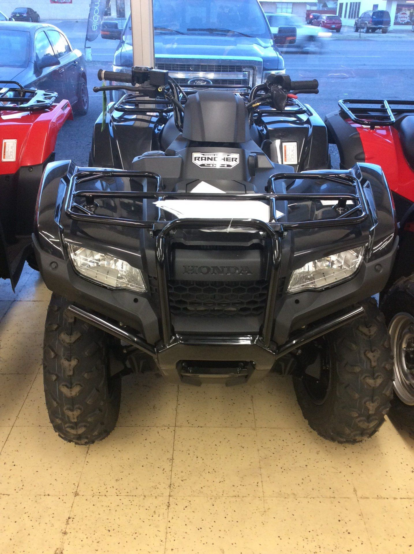 2017 Honda FourTrax Rancher 4x4 DCT IRS EPS in Clovis, New Mexico