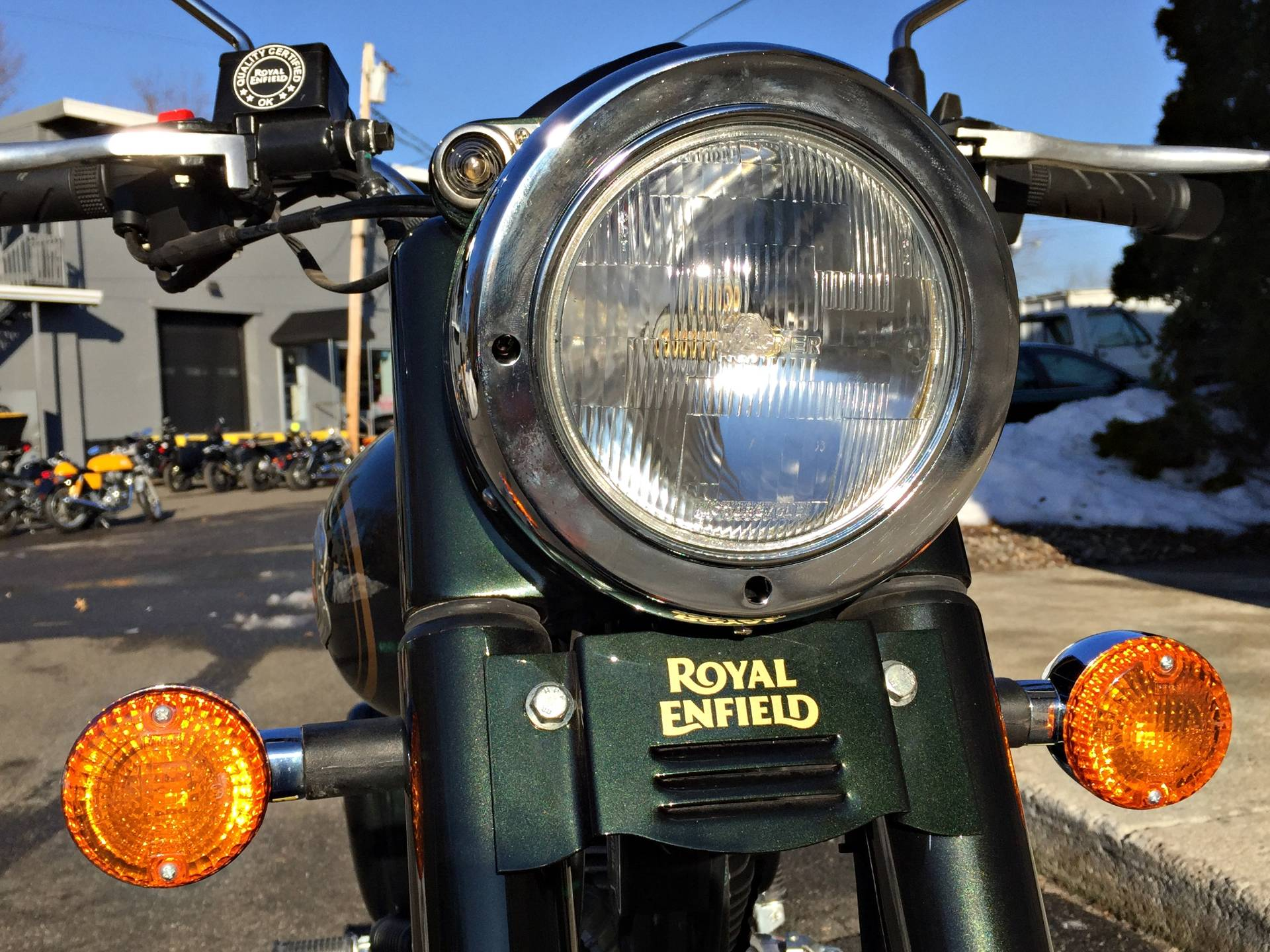 2016 Royal Enfield Bullet 500 EFI in Enfield, Connecticut
