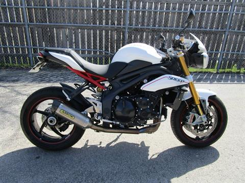2013 Triumph Speed Triple R ABS in Brookfield, Wisconsin