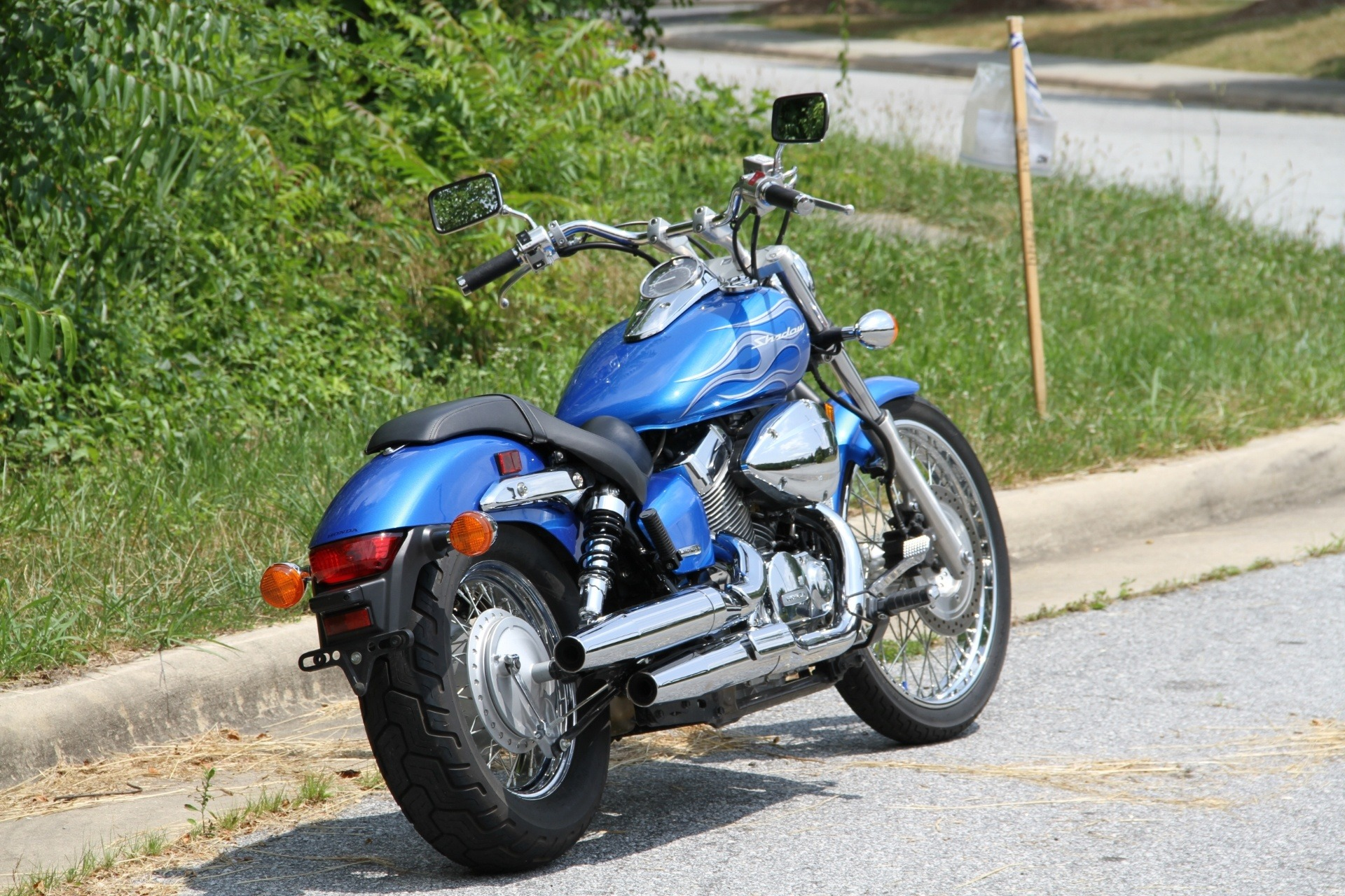 2008 Honda Shadow Spirit 750 in Hendersonville, North Carolina