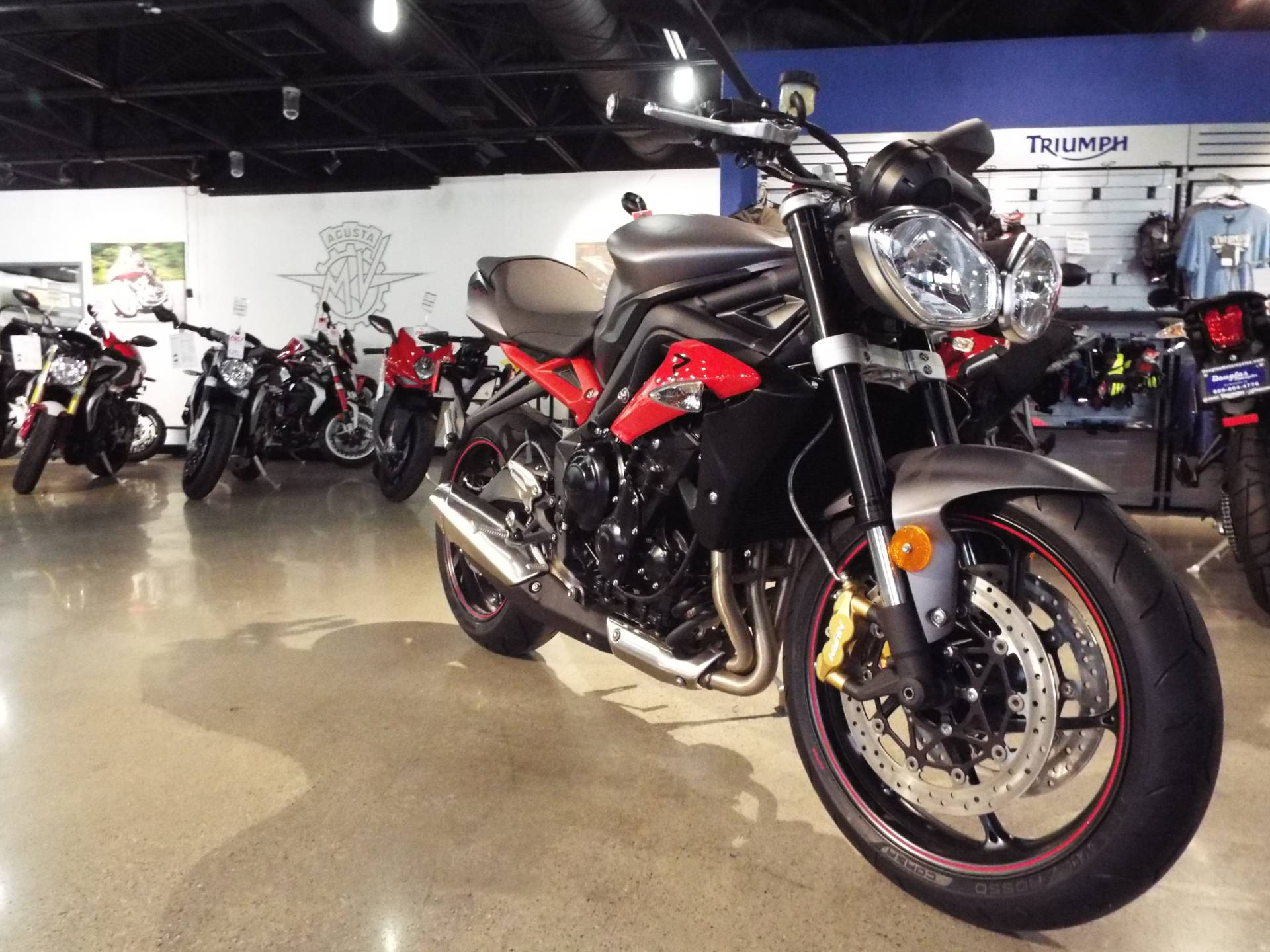2016 Triumph Street Triple R ABS in San Bernardino, California