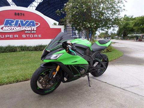 2014 Kawasaki Ninja® ZX™-10R ABS in Pompano Beach, Florida
