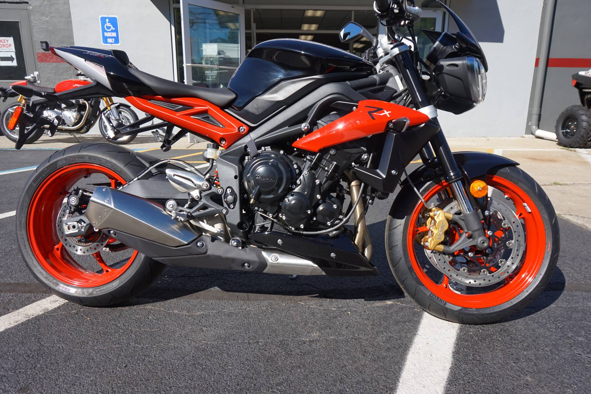 2016 Triumph Street Triple Rx ABS in Mahwah, New Jersey