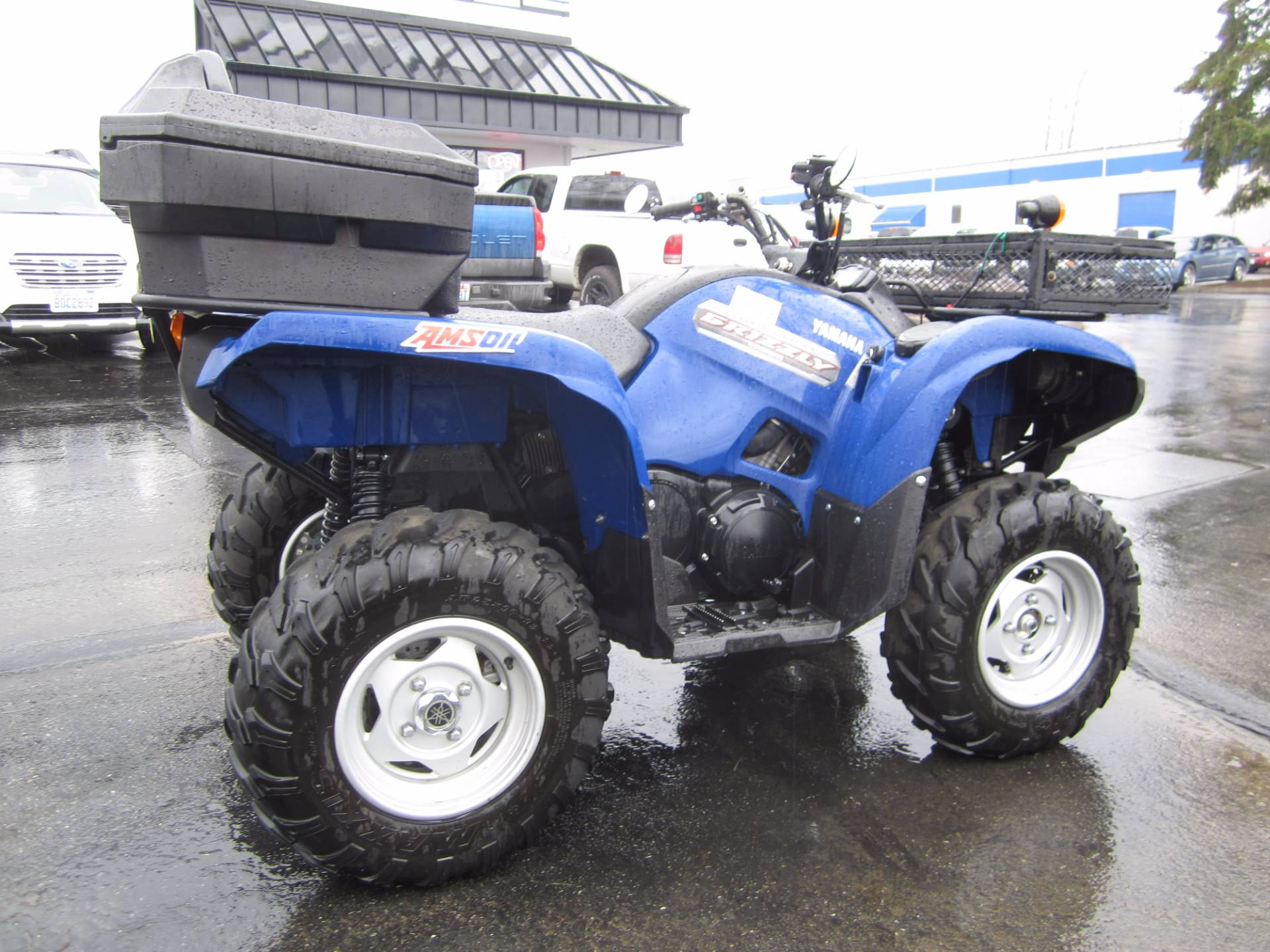 2013 Yamaha Grizzly 700 FI Auto. 4x4 EPS in Monroe, Washington