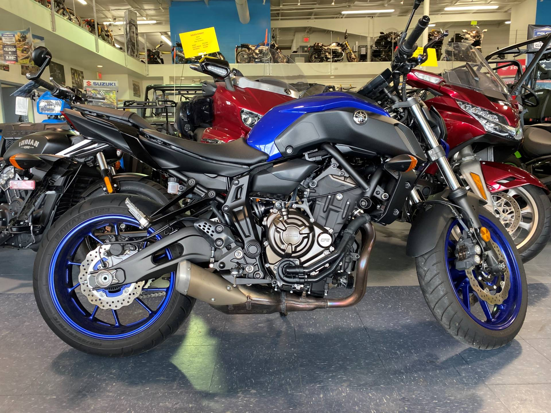 2018 Yamaha MT-07 in Iowa City, Iowa - Photo 1