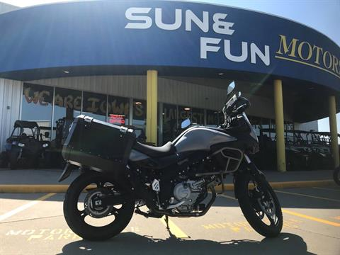 2015 Suzuki V-Strom 650 XT ABS in Iowa City, Iowa - Photo 1