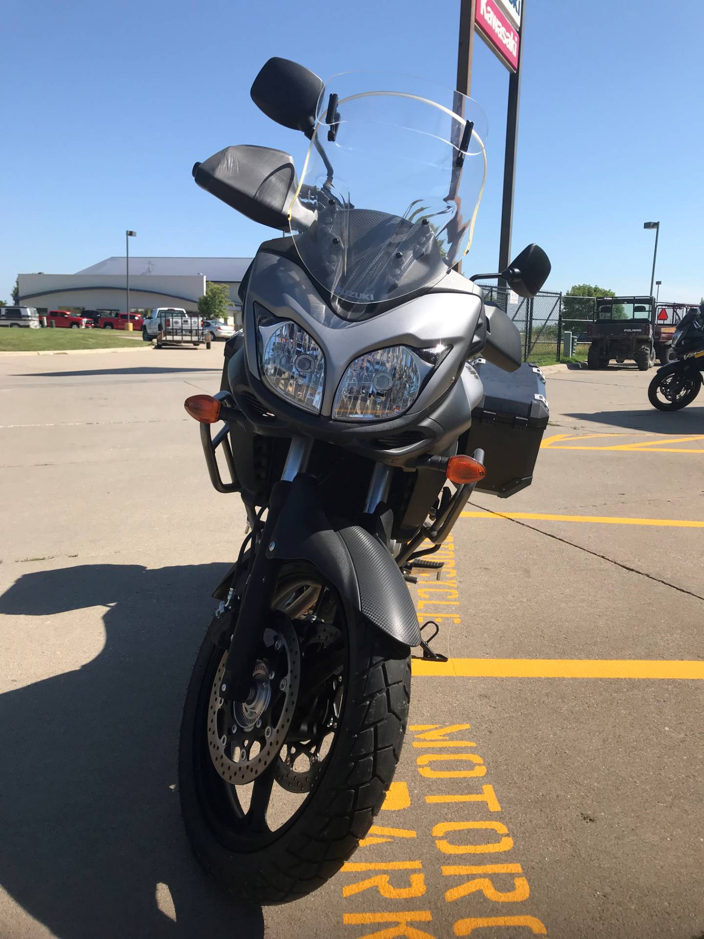 2015 Suzuki V-Strom 650 XT ABS in Iowa City, Iowa - Photo 2