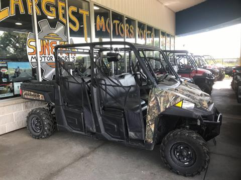 2017 Polaris Ranger Crew XP 900 EPS Camo in Iowa City, Iowa