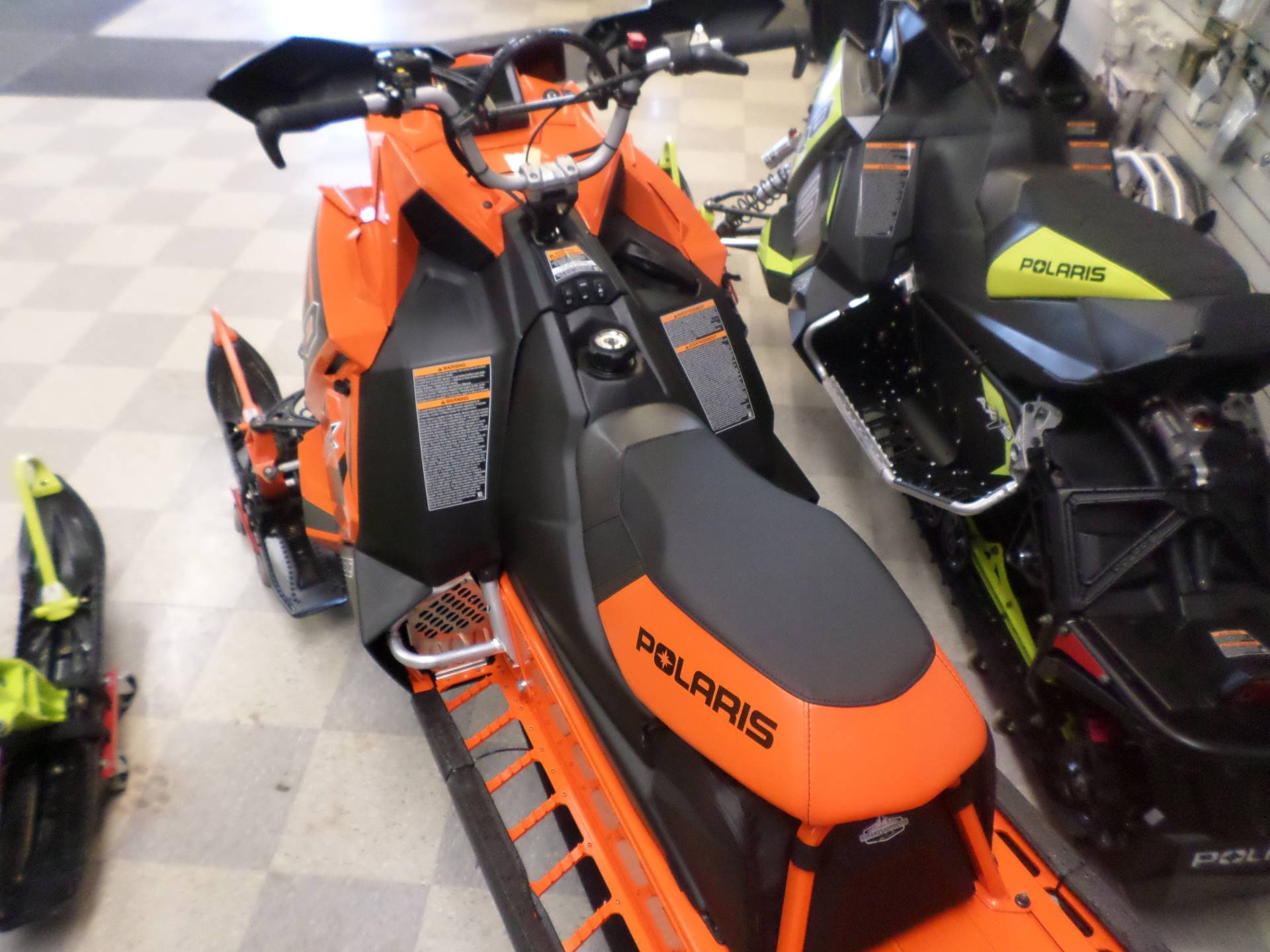 2018 Polaris 800 PRO-RMK 163 SnowCheck Select in Lake Mills, Iowa