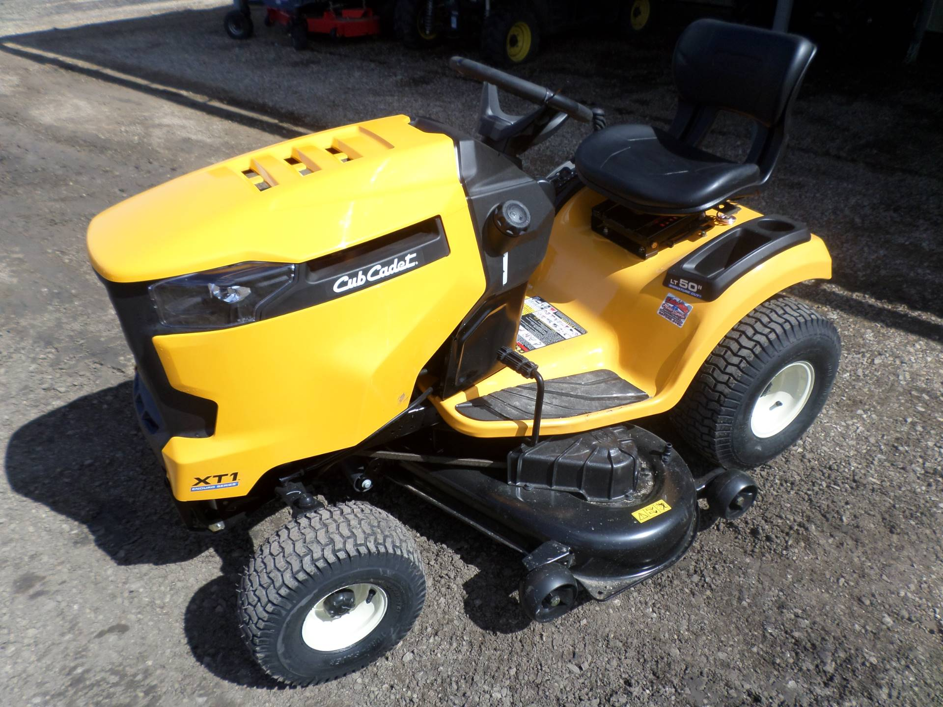 2017 Cub Cadet XT1 LT 50 in in Lake Mills, Iowa