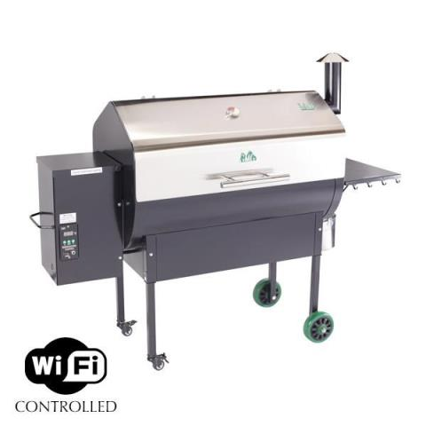 1900 Green Mountain Grills Jim Bowie WIFI stainless lid starting at $999 in South Hutchinson, Kansas