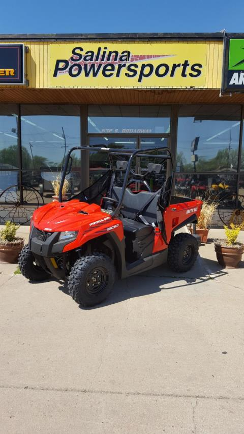 2017 Arctic Cat Prowler 500 Red in South Hutchinson, Kansas