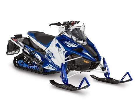 2017 Yamaha Sidewinder L-TX SE White / Yamaha Blue in Port Washington, Wisconsin