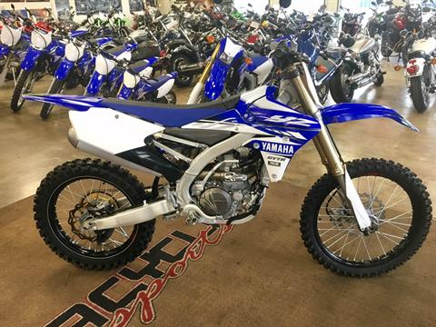 2017 Yamaha YZ450F in Salt Lake City, Utah