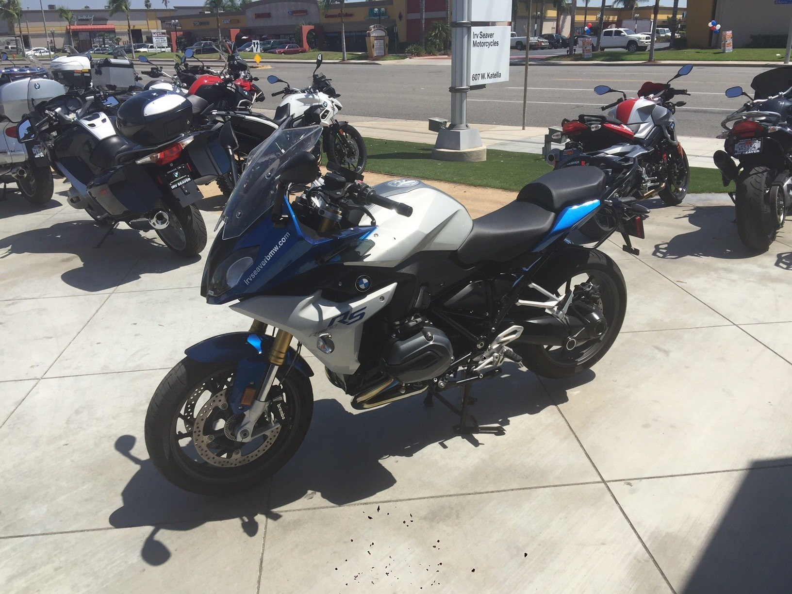 2016 BMW R 1200 RS in Orange, California