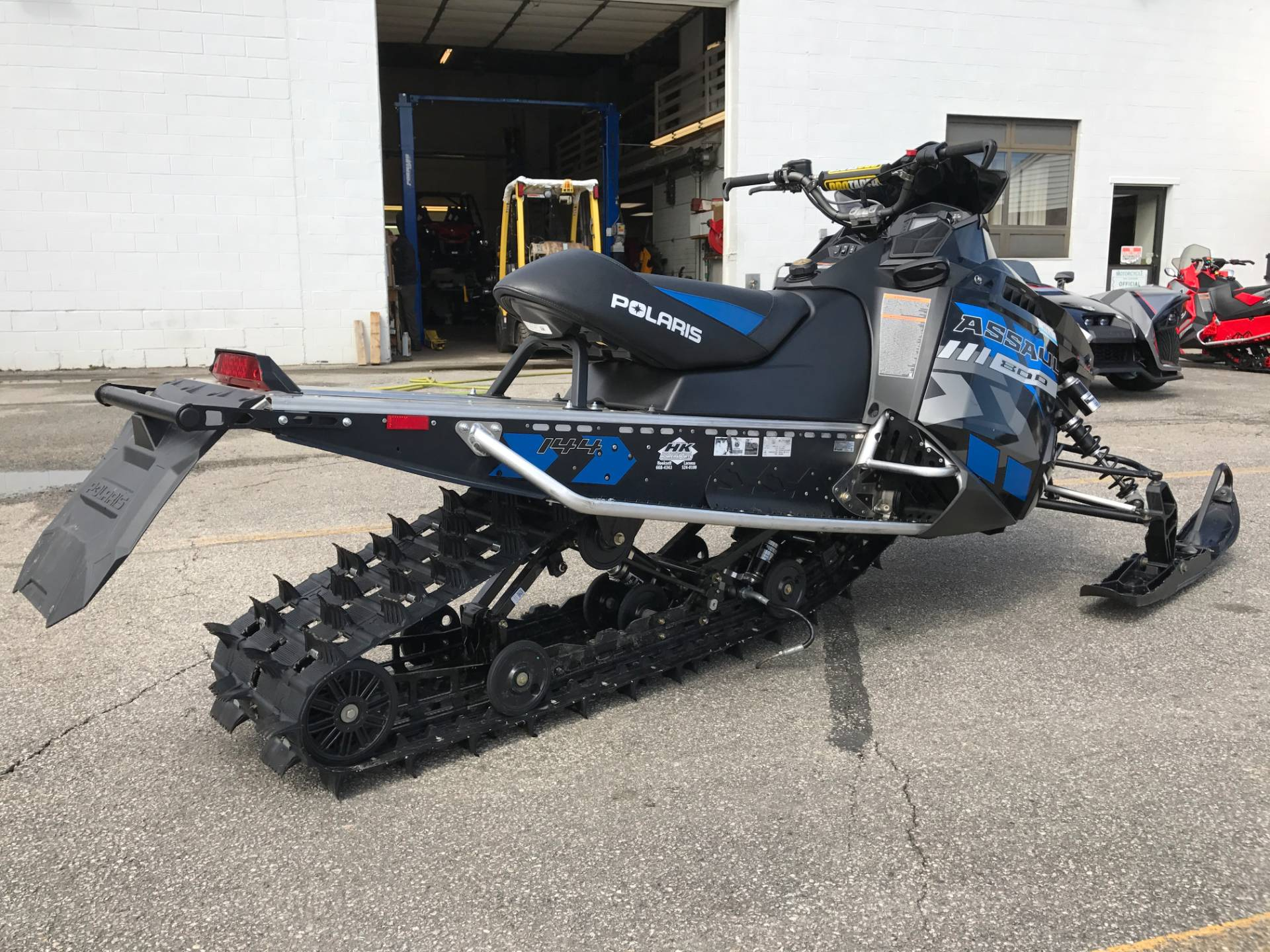 2016 Polaris 800 SWITCHBACK ASSAULT144 SnowCheck Select in Hooksett, New Hampshire