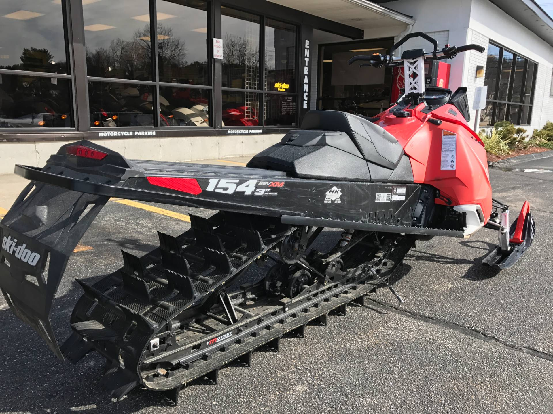 "2016 Ski-Doo Summit SP T3 154 800R E-TEC, PowderMax 3.0"" in Hooksett, New Hampshire"