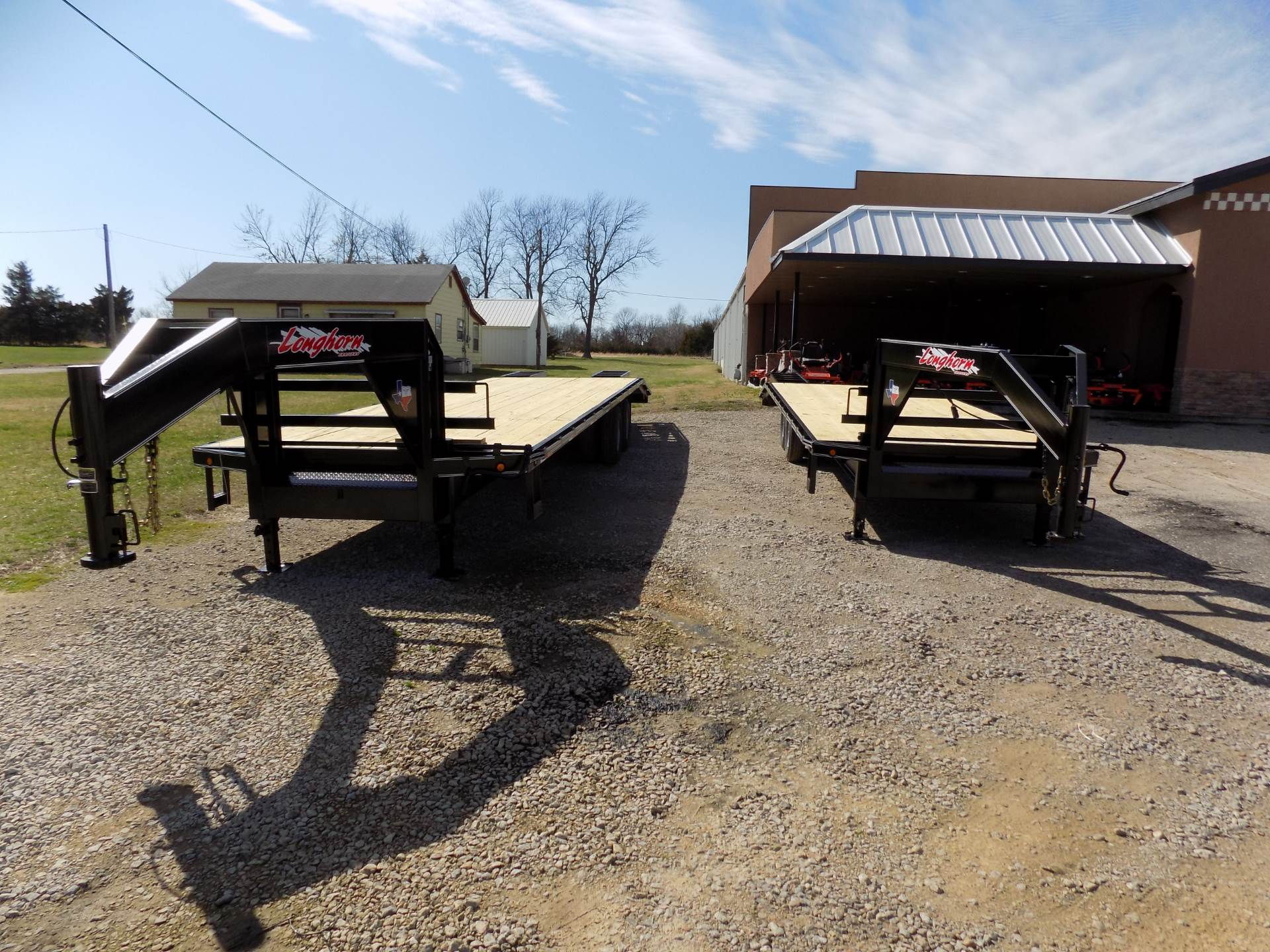 "2017 Other 102""x25'+5' SINGLE WHEEL GOOSENECK LONGHORN TRIALERS in Chanute, Kansas"