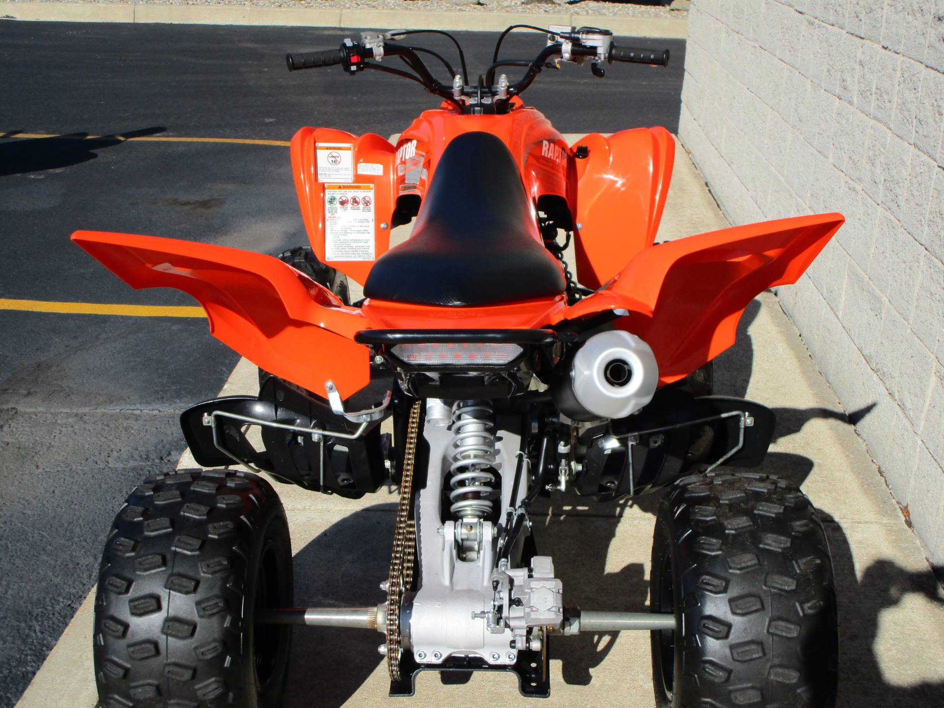2017 Yamaha Raptor 700 in Monroe, Michigan