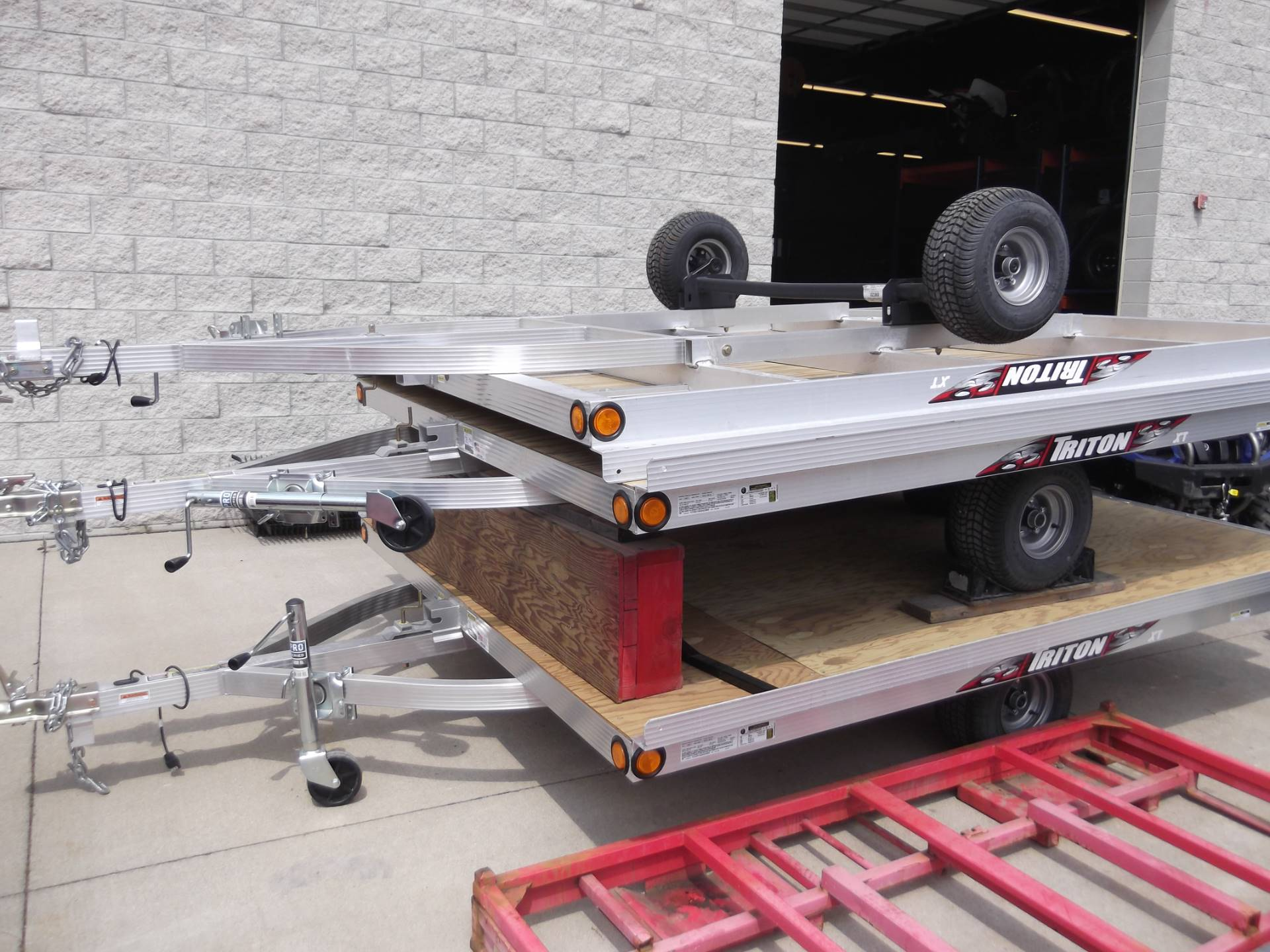 2017 Triton Trailers TRITON in Monroe, Michigan