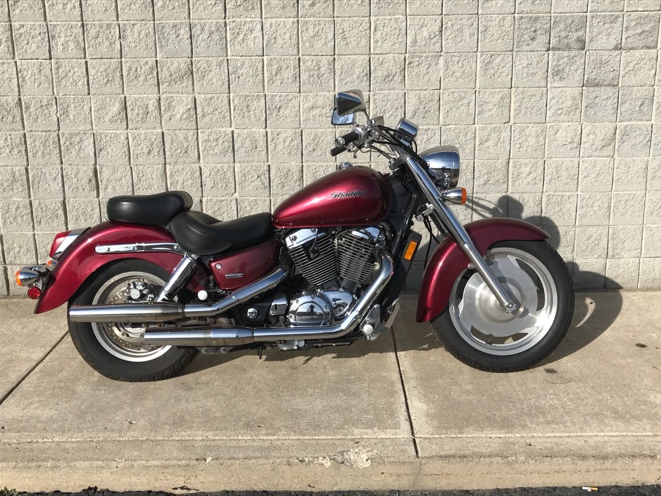 2007 honda shadow sabre motorcycles monroe michigan hm701521