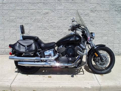 2009 Yamaha V Star 1100 Midnight Custom in Monroe, Michigan