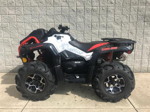 2017 Can-Am Outlander X mr 570 in Monroe, Michigan