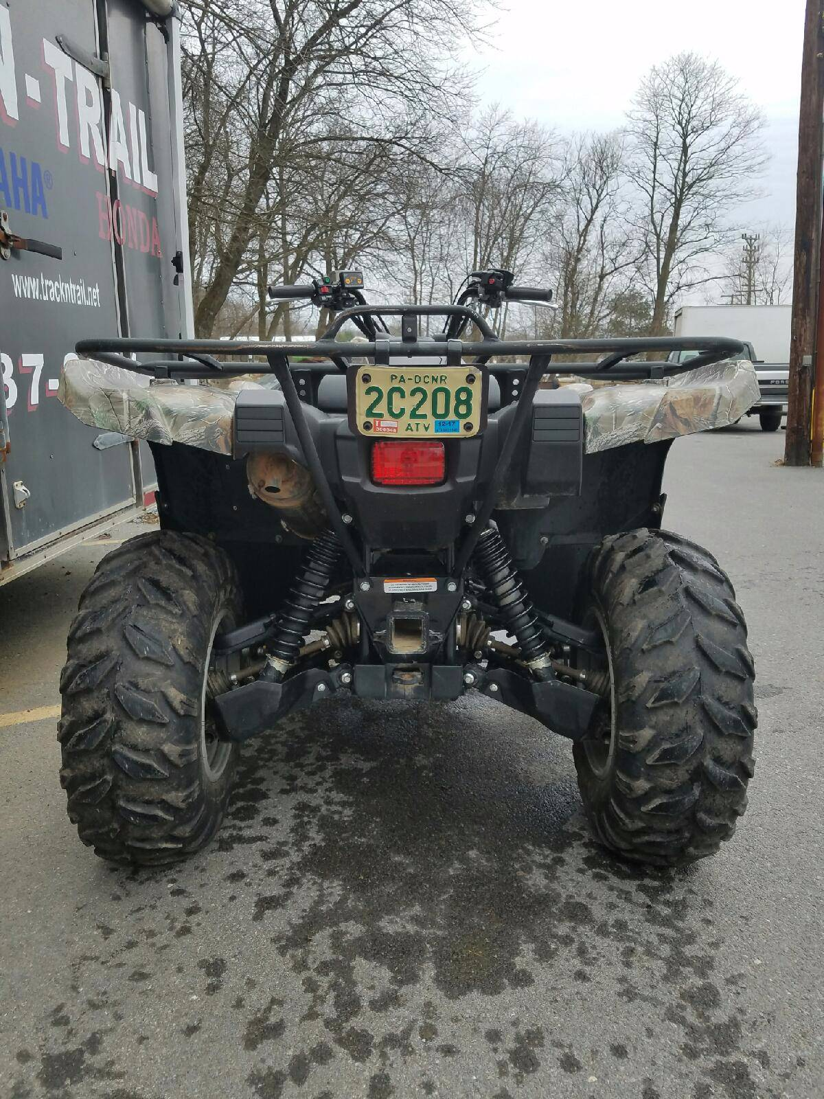2015 Yamaha Grizzly 700 4x4 EPS in State College, Pennsylvania