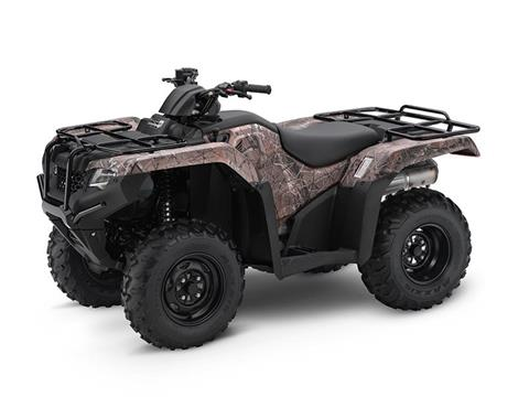 2017 Honda FourTrax Rancher 4x4 Camo (TRX420FM1) in State College, Pennsylvania