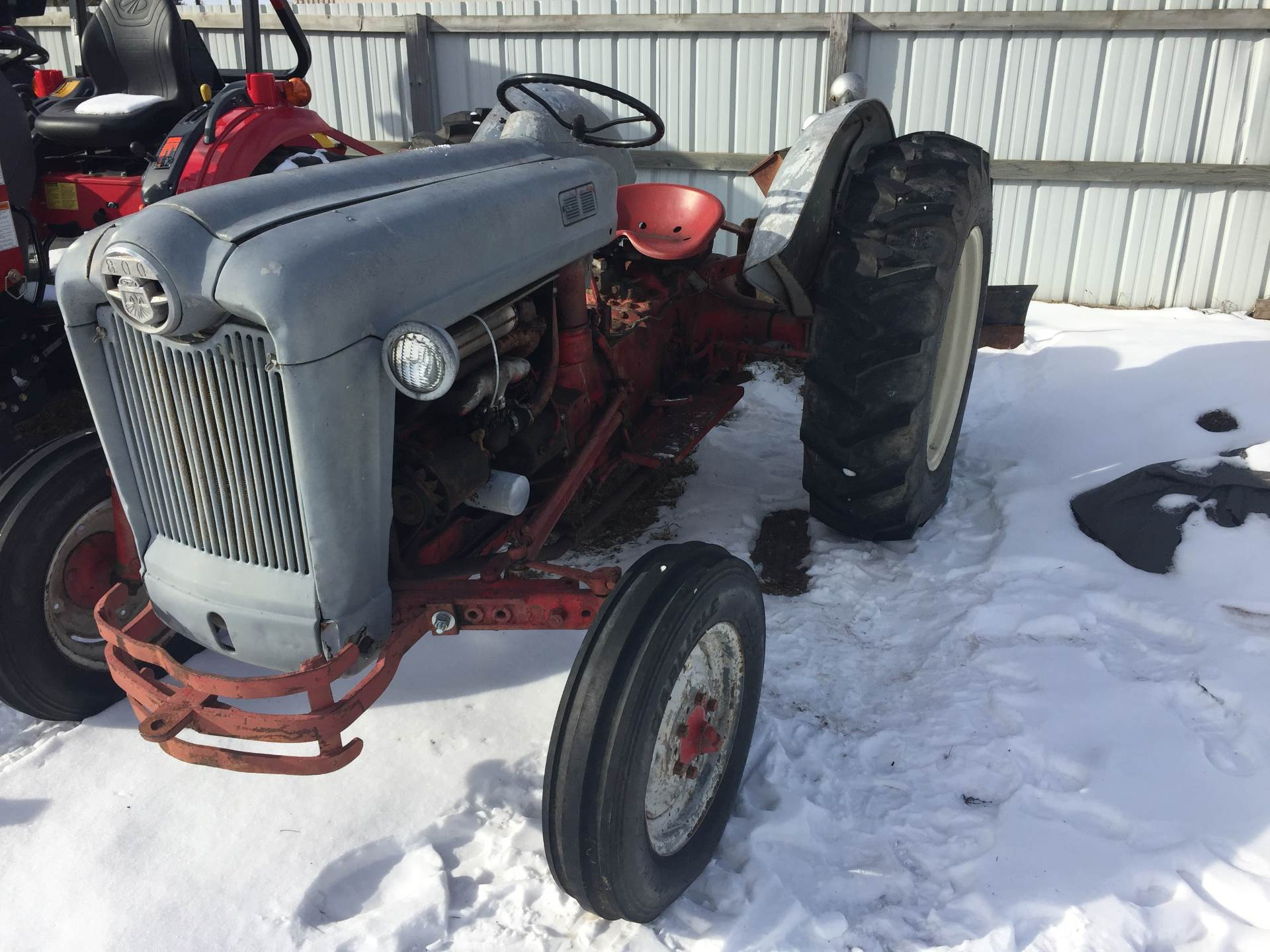 1955 Ford 850 in Mount Pleasant, Michigan