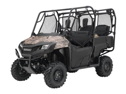 2016 Honda Pioneer 700-4 Camo in Mount Vernon, Ohio